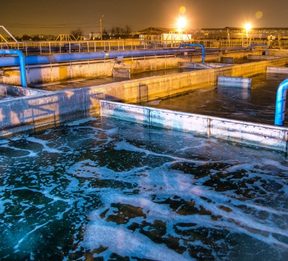 Water & Wastewater Treatment Plants